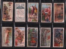Tobacco cigarette cards Historic Events 1912 set of 50